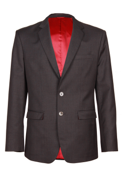 Meticulous Slim Fit Chacoal Grey  Suit